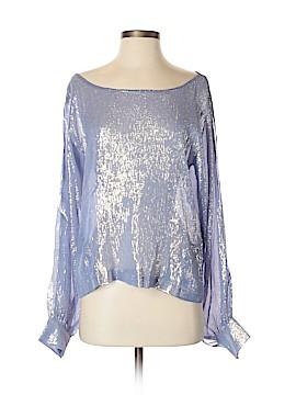 Koch Long Sleeve Silk Top Size XS