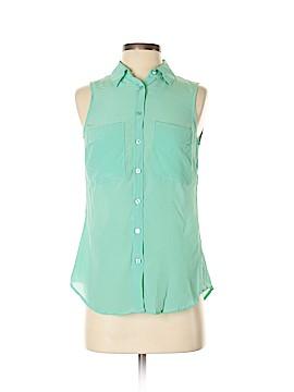 Isaac Mizrahi New York Sleeveless Silk Top Size XS
