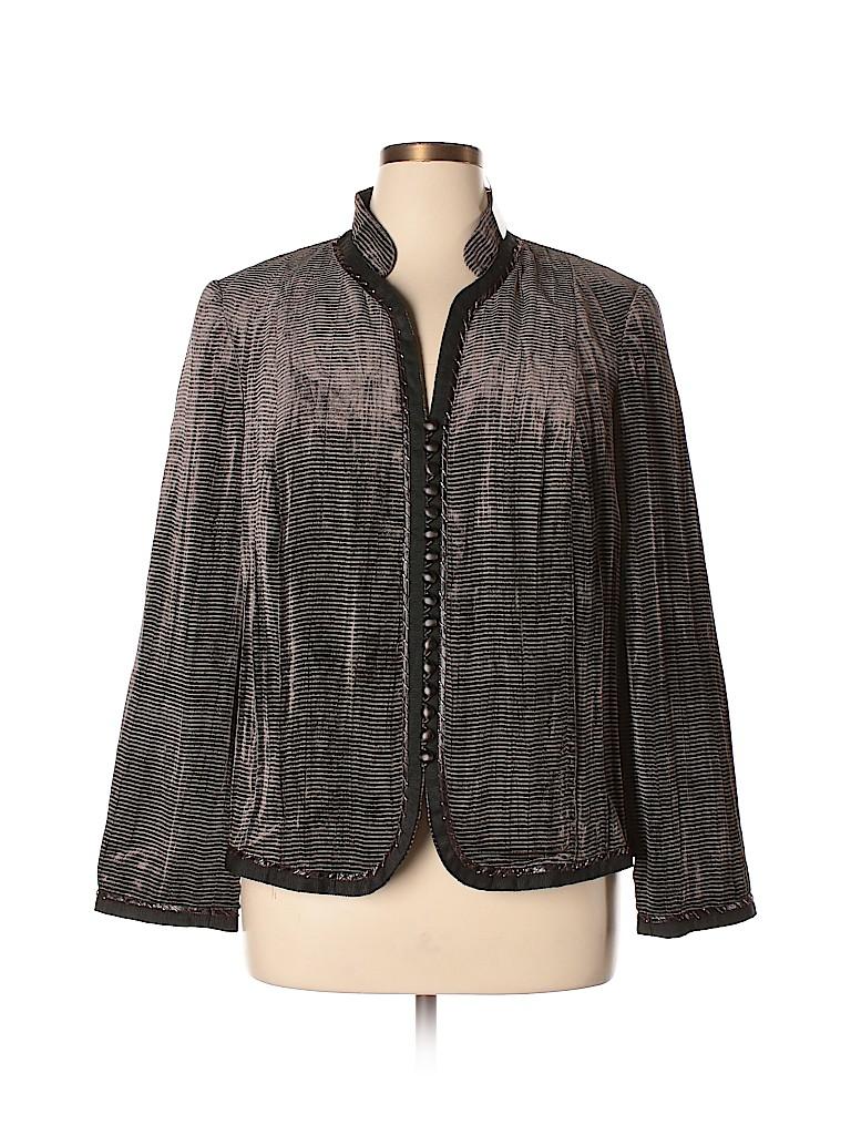 Carmen Marc Valvo Women Blazer Size 14