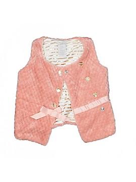 Tahari Faux Fur Vest Size 24 mo