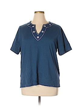 C.D. Daniels Short Sleeve Top Size 1X (Plus)