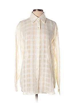 Isabella Bird Long Sleeve Button-Down Shirt Size M