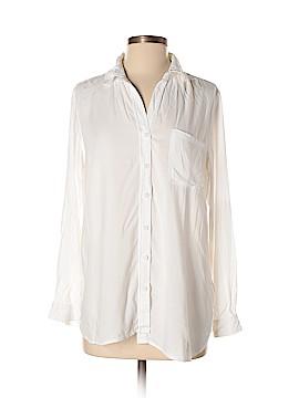Beach Lunch Lounge Long Sleeve Button-Down Shirt Size S