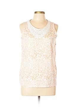 White Stag Sleeveless Blouse Size 12 - 14
