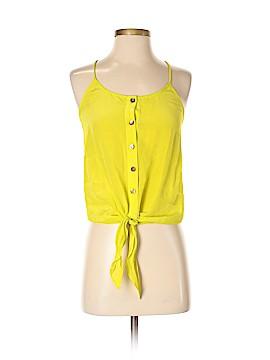Trina Turk Sleeveless Silk Top Size P
