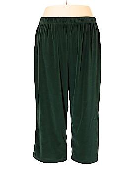 Roaman's Velour Pants Size 4X (Plus)