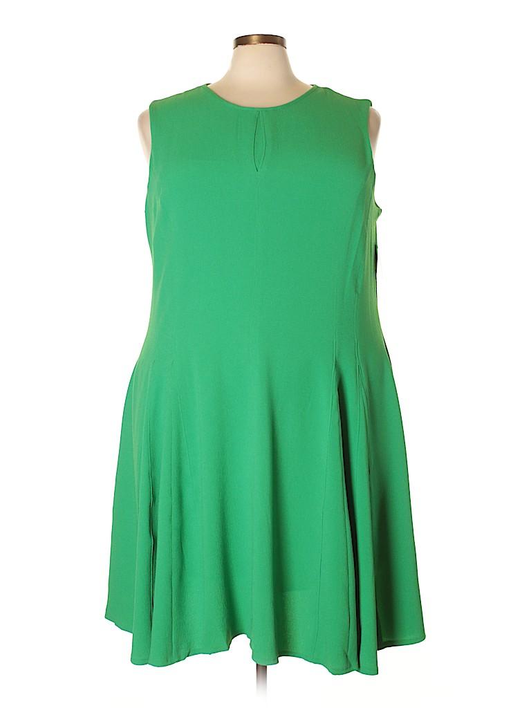 Taylor Women Casual Dress Size 24 (Plus)