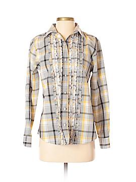 Foxcroft Long Sleeve Blouse Size 4