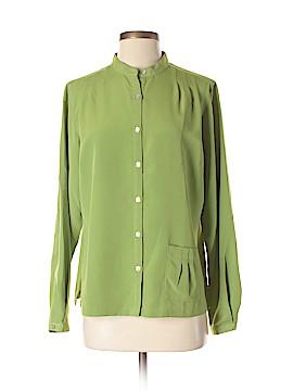 Travelsmith Long Sleeve Blouse Size M
