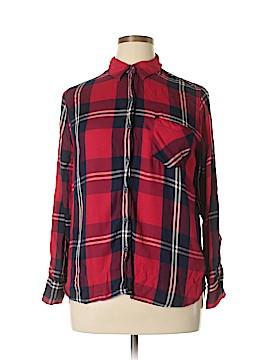 Woolrich Long Sleeve Blouse Size XL