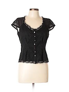 Nanette Lepore Short Sleeve Top Size 10