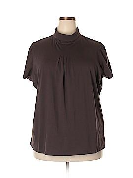 Jason Maxwell Short Sleeve Turtleneck Size 2X (Plus)
