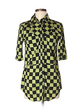 Abbey Dawn Short Sleeve Button-Down Shirt Size M