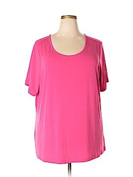 Joan Rivers Short Sleeve Blouse Size 3X (Plus)