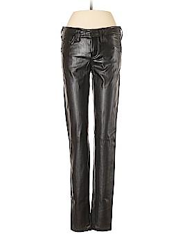 Bebe Faux Leather Pants Size 4