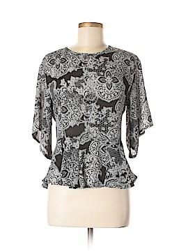 Daisy Street Short Sleeve Blouse Size M