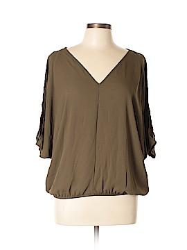 XOXO 3/4 Sleeve Blouse Size L