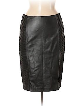Ralph Lauren Black Label Leather Skirt Size 6