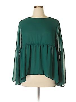 Stylus Long Sleeve Blouse Size XL