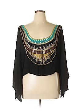 Haute Society 3/4 Sleeve Blouse Size XL
