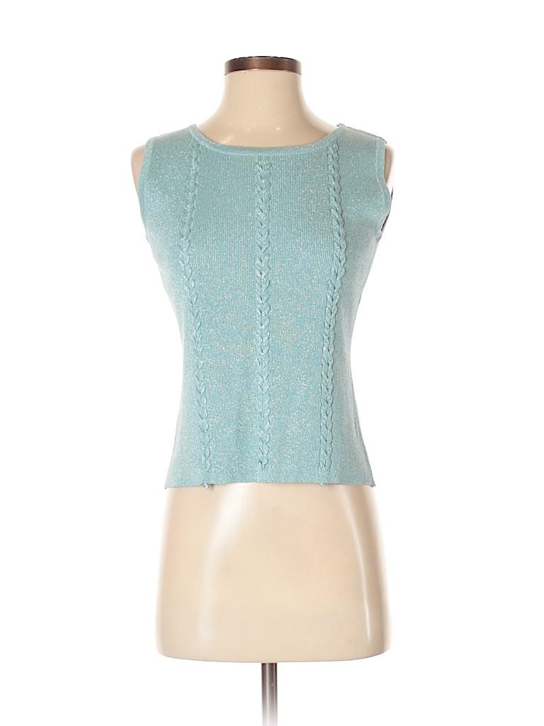 Joseph A. Women Silk Pullover Sweater Size S