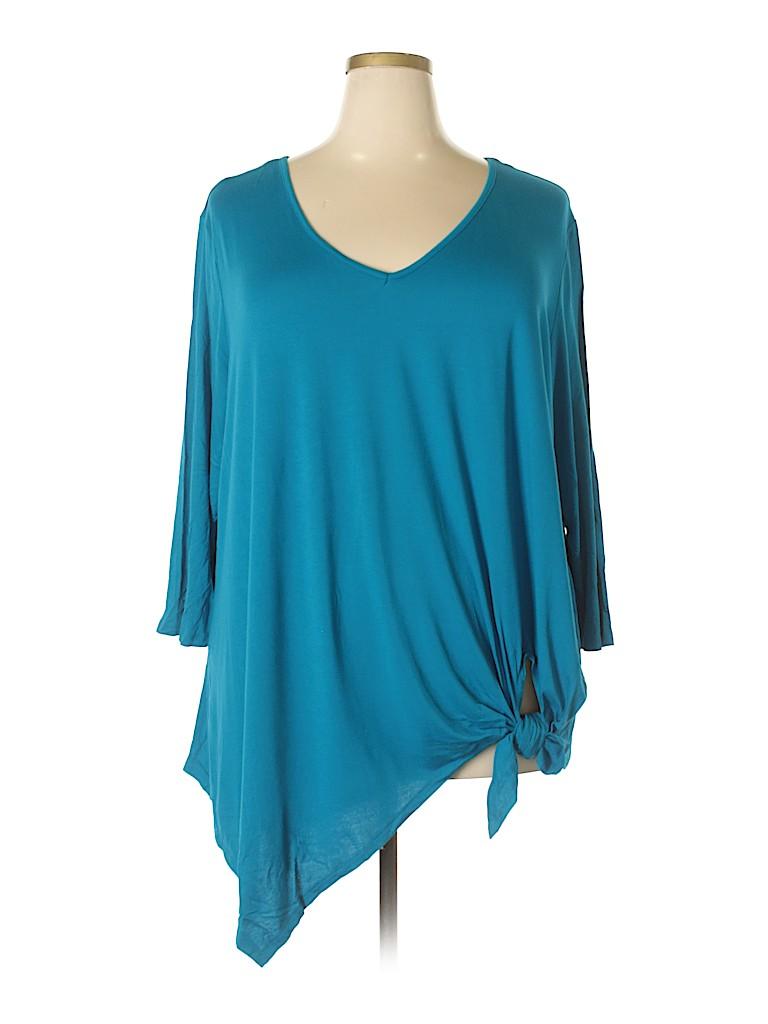 Westbound Women 3/4 Sleeve Top Size XL