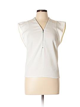 Sandro Short Sleeve Blouse Size Med (2)