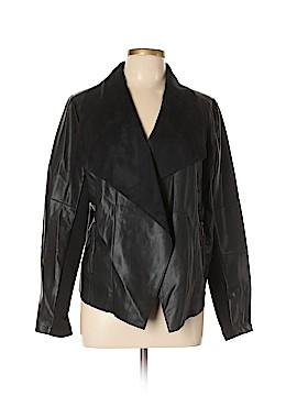 Bar III Faux Leather Jacket Size XL