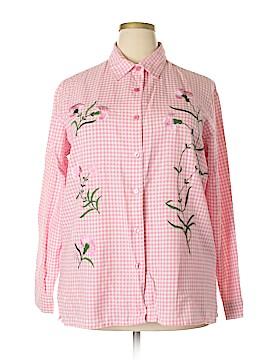BFA Classics Long Sleeve Button-Down Shirt Size XL
