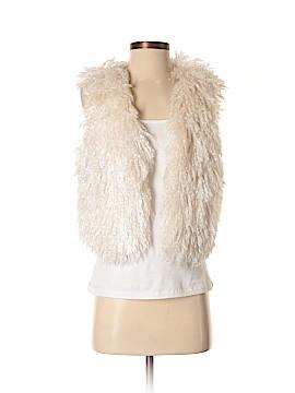 RACHEL Rachel Roy Faux Fur Vest Size S