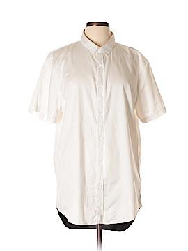 Rails Short Sleeve Button-Down Shirt Size XL