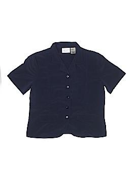 Kathie Lee Short Sleeve Blouse Size 10