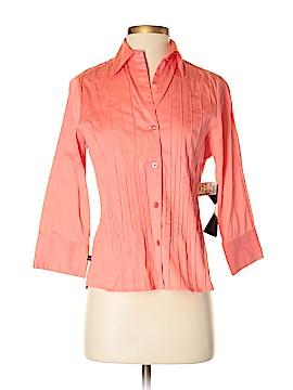 Allison Morgan 3/4 Sleeve Button-Down Shirt Size S