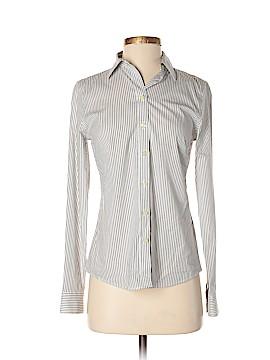 Banana Republic Long Sleeve Button-Down Shirt Size 4 (Petite)