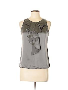 LUXE Sleeveless Silk Top Size XS