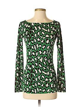 Diane von Furstenberg Long Sleeve Top Size S