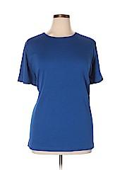 Croft & Barrow Women Short Sleeve T-Shirt Size 3X (Plus)