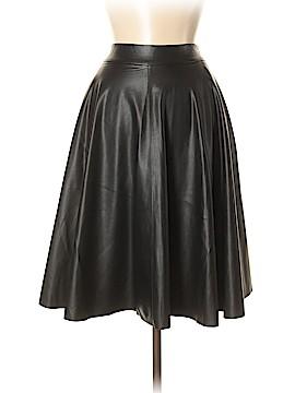 Catherine Malandrino Faux Leather Skirt Size 6