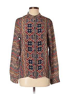 Tolani Long Sleeve Blouse Size S