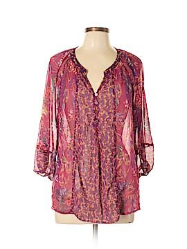 Figueroa & Flower Long Sleeve Blouse Size M
