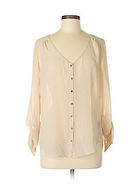 Bebe Long Sleeve Blouse Size M