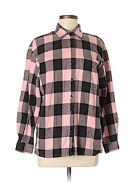 Newport News Long Sleeve Button-Down Shirt Size M