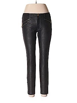 Zara Basic Faux Leather Pants Size 10