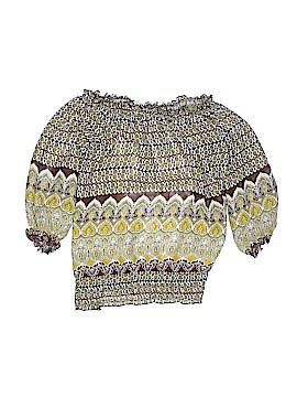 Sami & JO 3/4 Sleeve Blouse Size XL