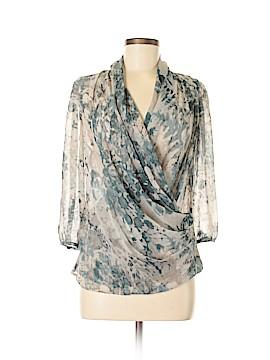 Talbots 3/4 Sleeve Blouse Size 4