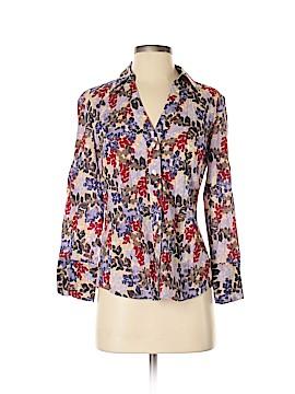 Ann Taylor Factory 3/4 Sleeve Button-Down Shirt Size 6