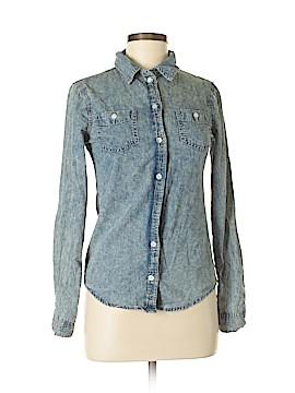 Scarlet Boulevard Long Sleeve Button-Down Shirt Size XS