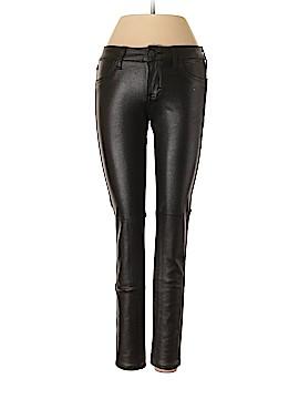 Siwy Faux Leather Pants 24 Waist