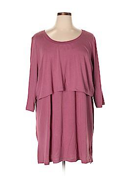 Roaman's Casual Dress Size 2X (Plus)