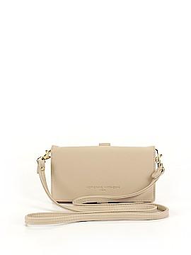 Adrienne Vittadini Leather Crossbody Bag One Size
